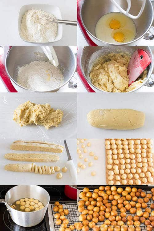Easy Donut Holes- step-by-step photo instructions