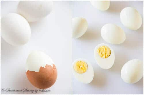 Learn how I cook hard boiled egg perfect every time! Plus, my tips and tricks on how to cook farm fresh eggs and peel them flawlessly for your deviled eggs.