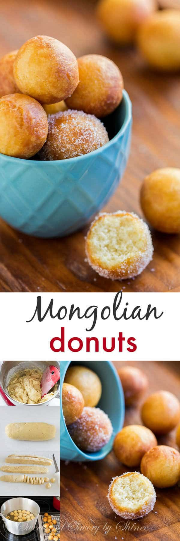 Crispy, soft and incredibly addicting, these little donut holes are so easy to make and you'll get lots to share!