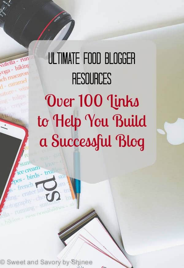 Ultimate Food Blogger Resource: Over 100 Links to Help You Build a Successful Blog. From photography to blog monetization, from social media to writing, I've compiled all the helpful resources that helped me to improve my blog. Though most of the articles are focused on food blogging, you'll also find some general blogging tips as well.