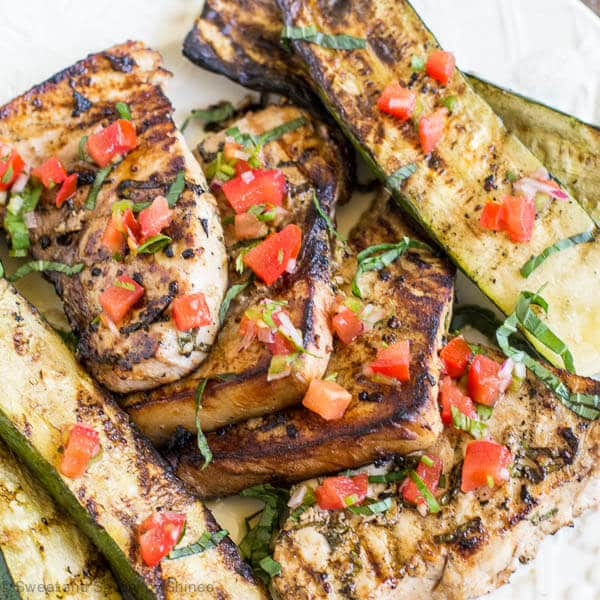 Simple, flavorful dinner in minutes! Add this lime basil grilled swordfish steaks to your busy weeknight menu and enjoy melt-in-your-mouth-tender flakes with side of your favorite vegetables.