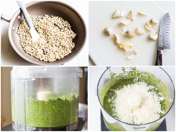 Classic pesto recipe with step by step photos