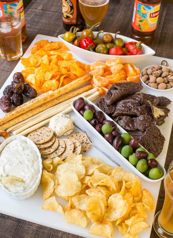 Pajama Party Inspiration Sweet Amp Salty Snack Board Sweet