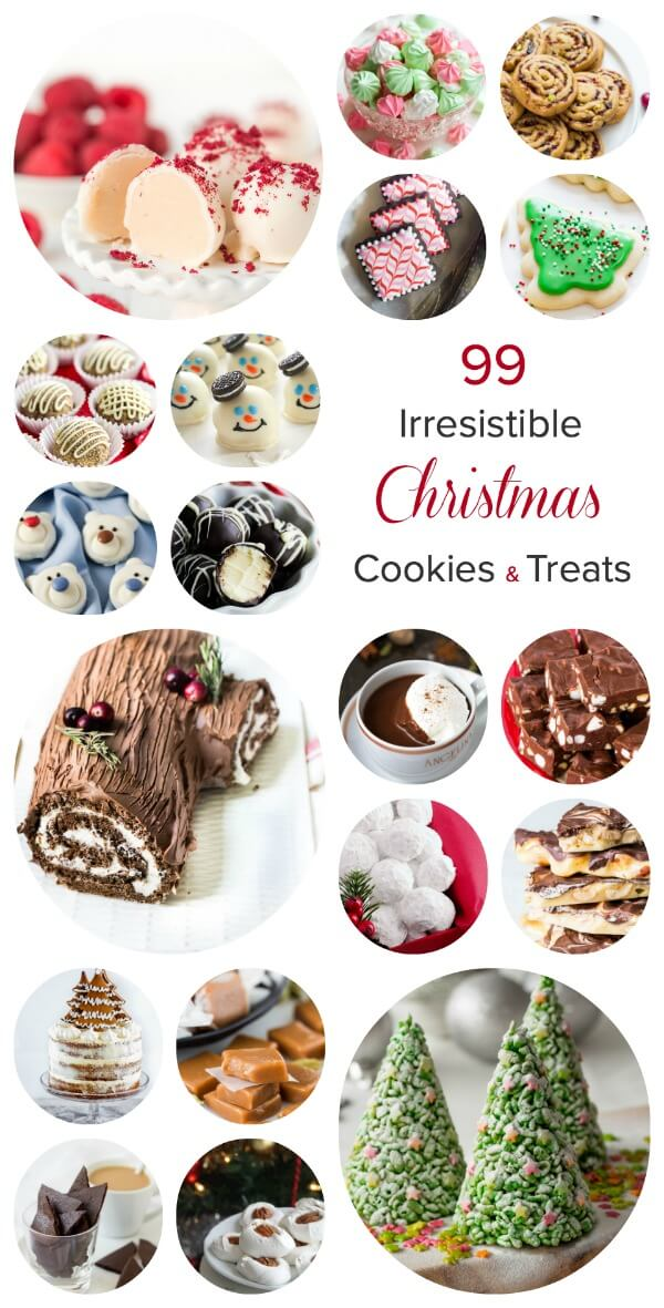 99 irresistible christmas cookies and treats to make for your holiday tray. Insanely creative and cute ideas!