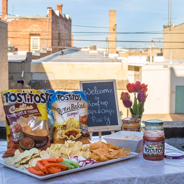 Summer Rooftop Dips & Chips Party