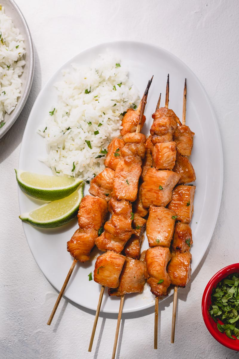 Sweet Spicy Chicken Skewers Sweet Savory