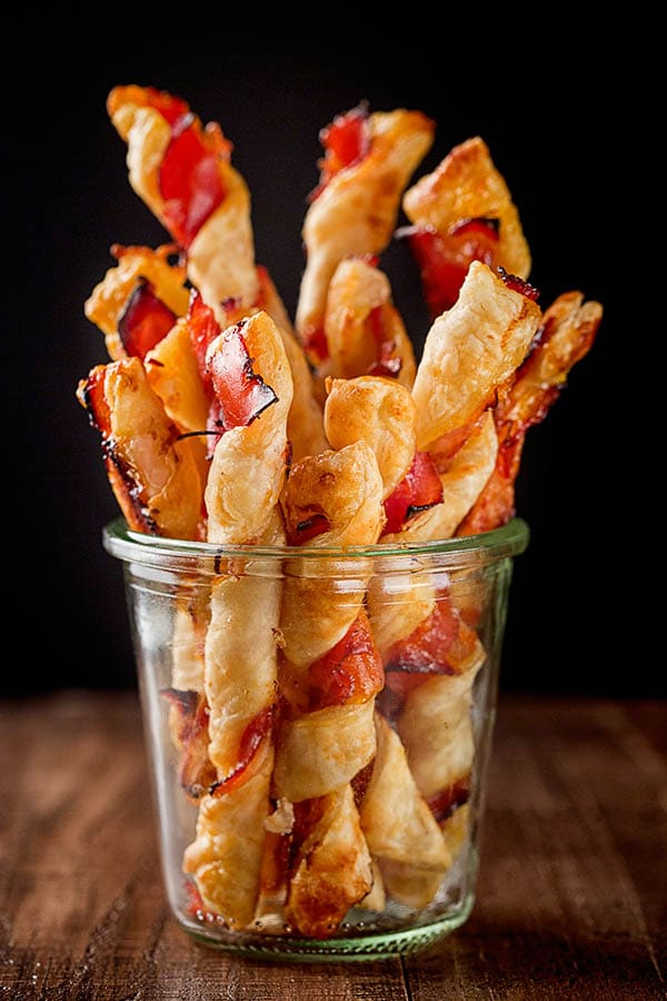 Sweet and savory, these puff pastry sticks require only 3 ingredients and comes together quick and easy. Perfect appetizer for any occasion!