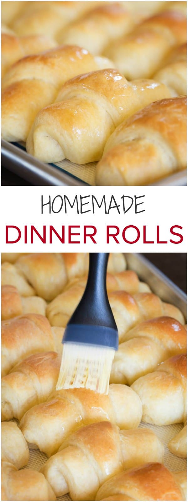 These rich and buttery homemade dinner rolls with soft and tender crumbs will fill your house with unbelievably delicious aroma, an extra perk for sure.