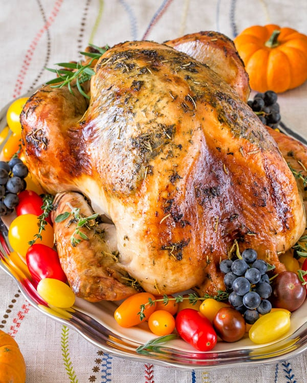 Super Juicy No Brine Roast Turkey Sweet Savory