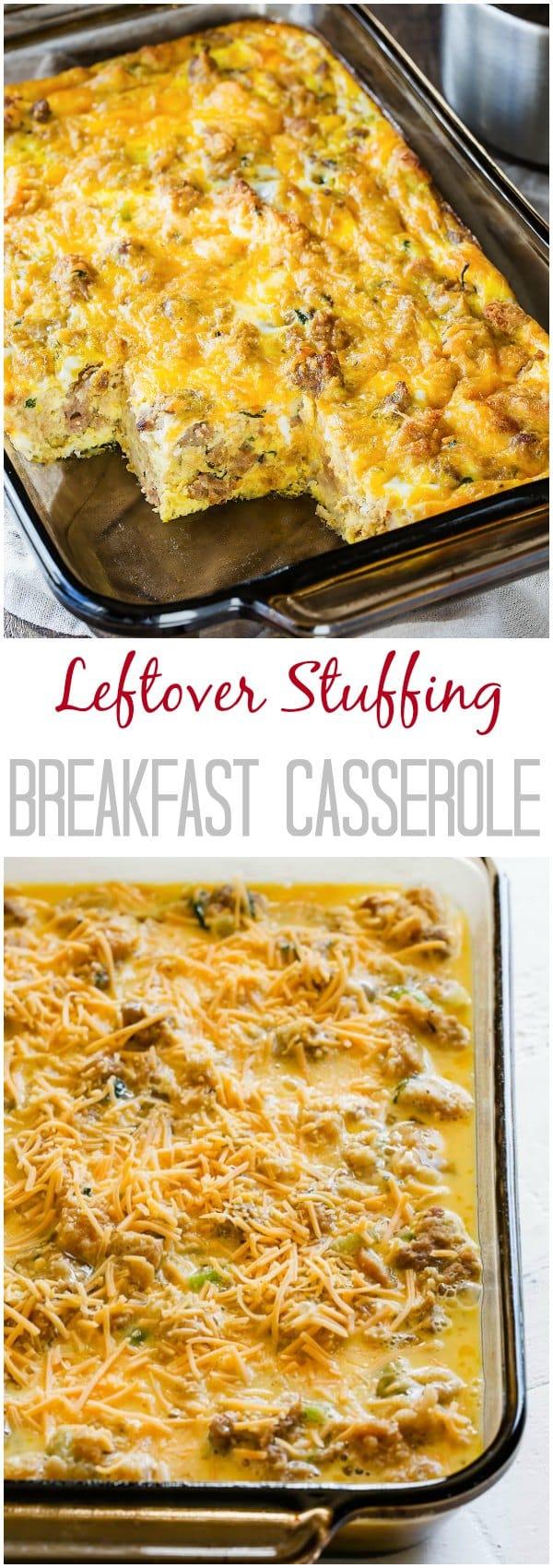 recipe: breakfast casserole with stuffing [1]