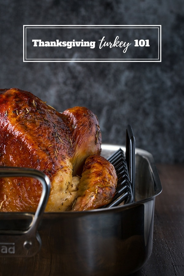 Thanksgiving Turkey 101: Everything you need to know about cooking a turkey from brining to carving!