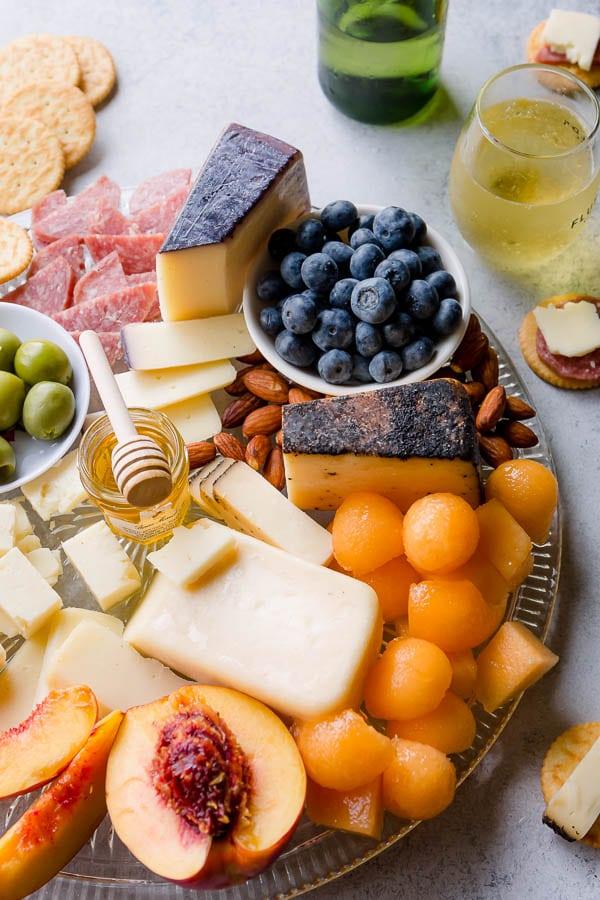 Summer Cheese Board Sweet Savory