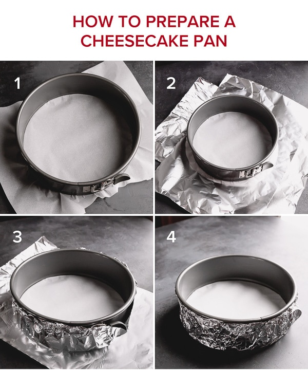 How to prepare a cheesecake pan, step by step? #cheesecake