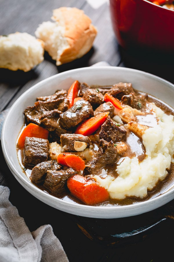 Classic beef stew, but better!!! Actually, the best beef stew recipe you'll ever make! Bold statement, I know. But the secret ingredient is a game changer here! #beefstew #beefrecipe